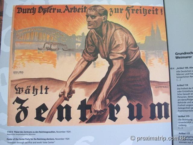 Propaganda nazista - Dachau - Alemanha
