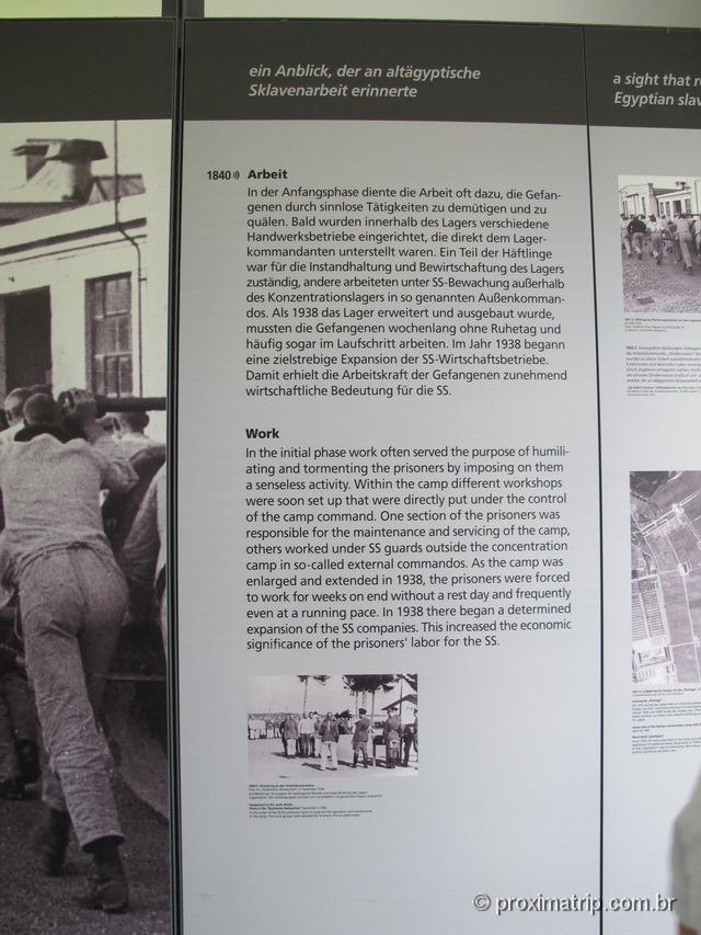 """Como era o """"trabalho"""" em Dachau"""