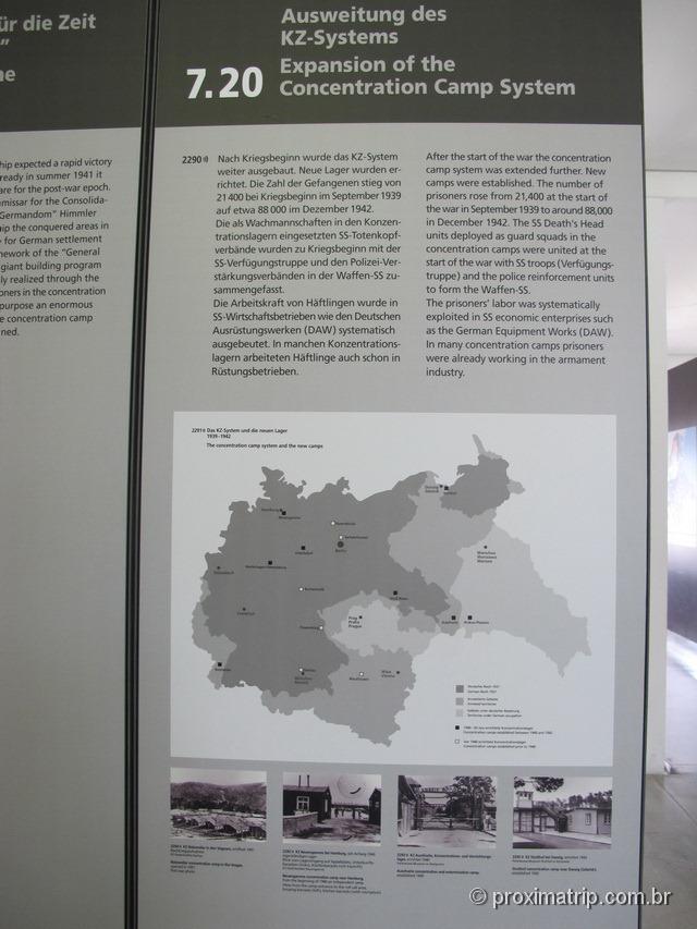 A expansão do sistema dos campos de concentração Nazista - Dachau