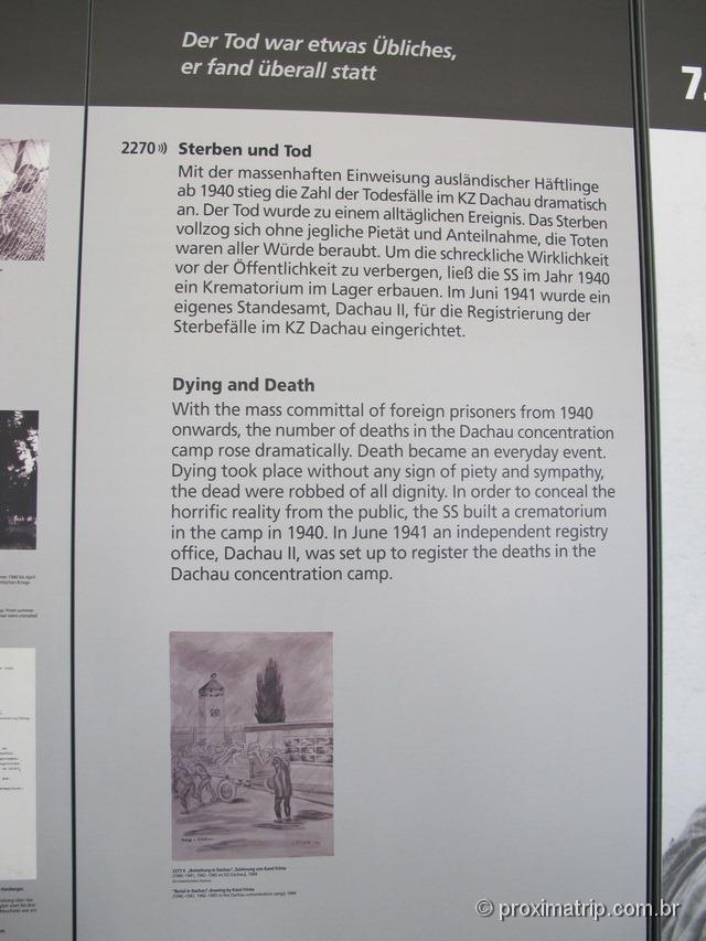 Mortes em Dachau após 1940 crescem dramaticamente