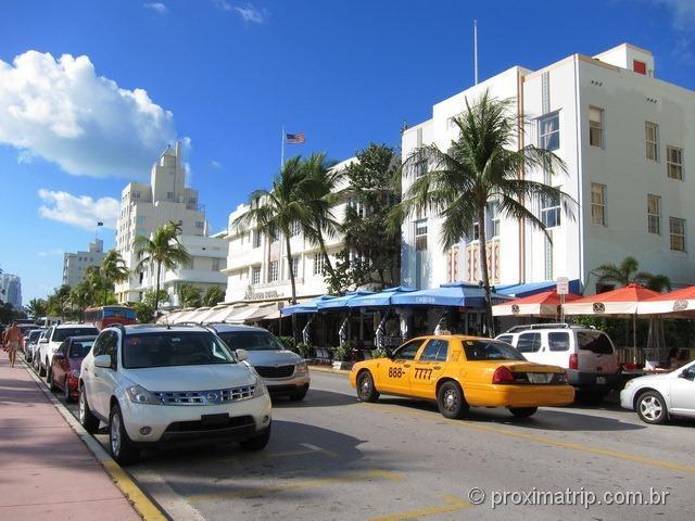 Miami: Ocean Drive e o circuito Art Déco