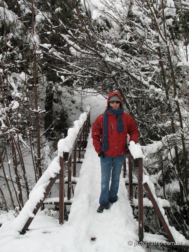 Nevasca no Cerro Otto