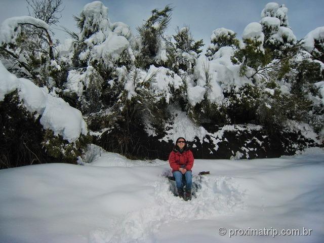 Cerro otto bariloche dia nevasca