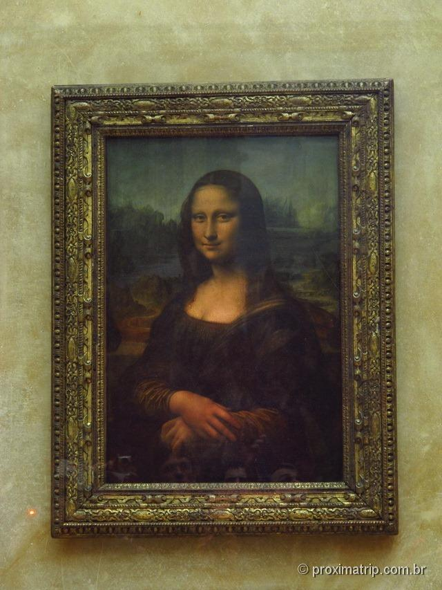 Monalisa - Museu do Louvre - Paris