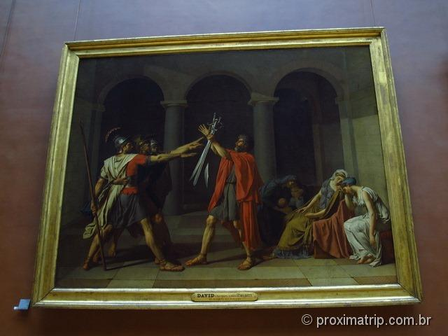 The Oath of the Oratii - Museu do Louvre - Paris
