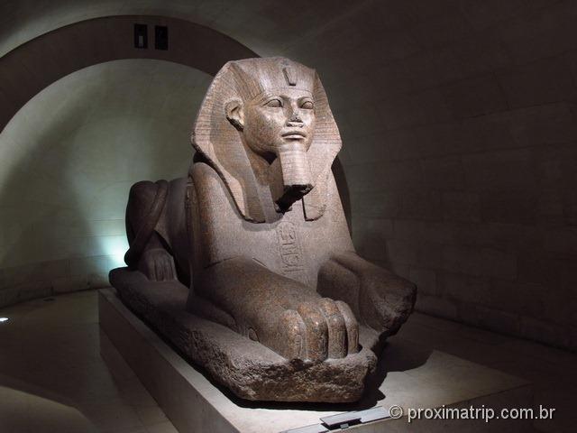 Setor do Egito no Museu do Louvre - Paris