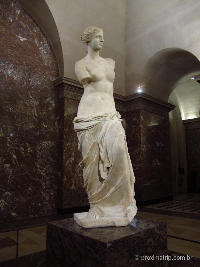 Venus de Milão, Museu do Louvre - Paris