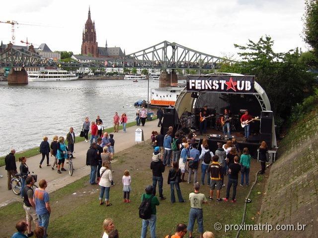 Bandas de Rock na MuseumsuferFest - Frankfurt