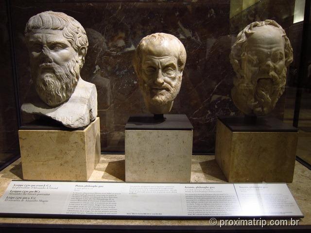 Platão Aristóteles Sócrates Museu do Louvre Paris