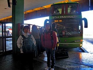 Saída Via Bariloche Terminal Rodoviário Retiro