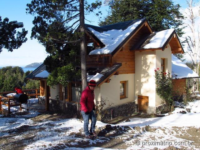 Cabanas Cumelen Bariloche Laguna