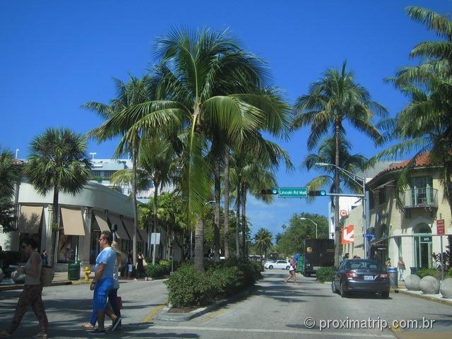 Cruzamento Lincoln Road Miami