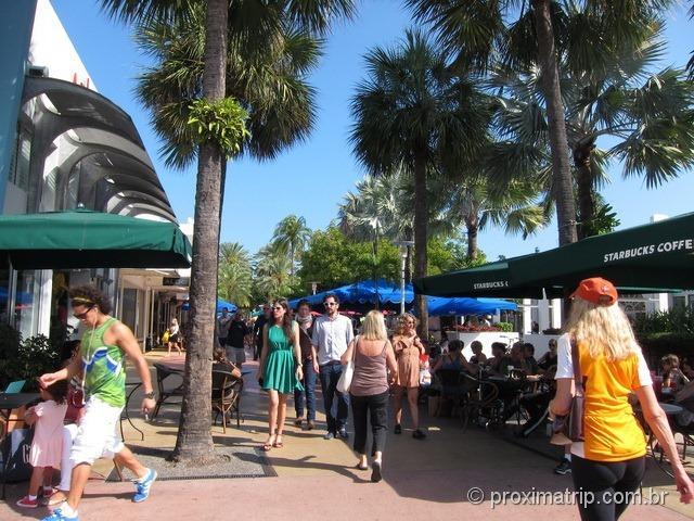 Miami: caminhando pela Lincoln Road