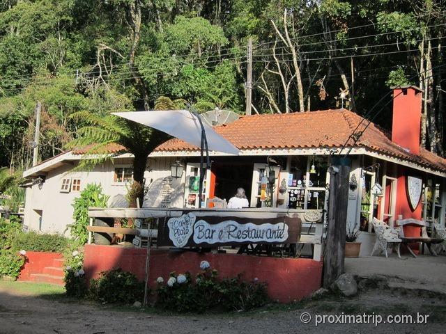 Café Platô, o ponto de início das trilhas - Monte Verde