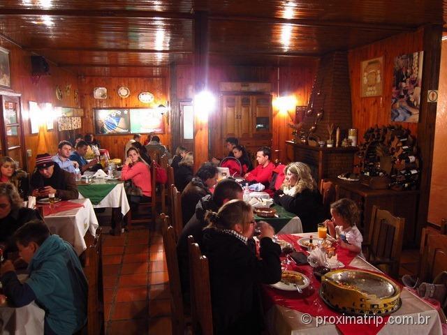 Cantina Roma por dentro - Monte Verde