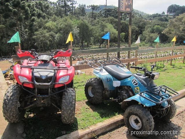 Pista de Quadriciclo em Monte Verde