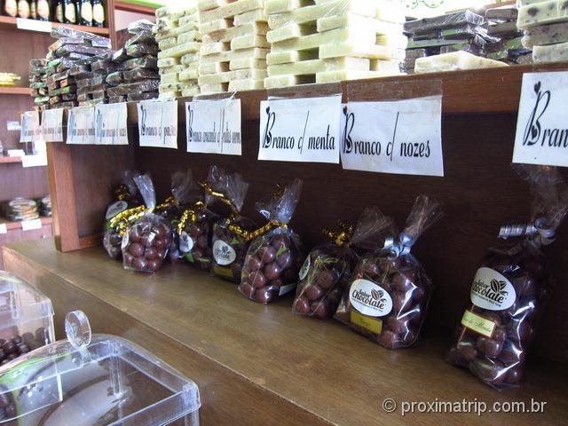 Chocolates para todos os gostos - Sabor Chocolate - Monte Verde