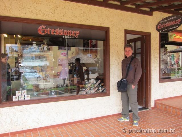 Loja de Chocolates Gressoney - Monte Verde