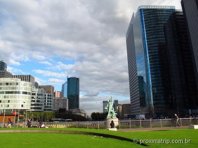 Passeio por La Défense, Paris