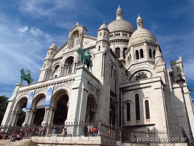 Basílica de Sacré Coeur Paris