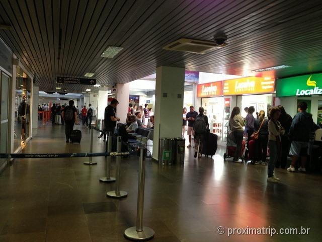Locadoras de carros no Aeroporto de Navegantes (SC)