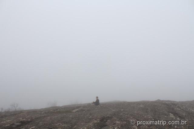 dentro da nuvem monte verde platô