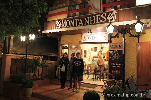 Chocolate Montanhês em Monte Verde