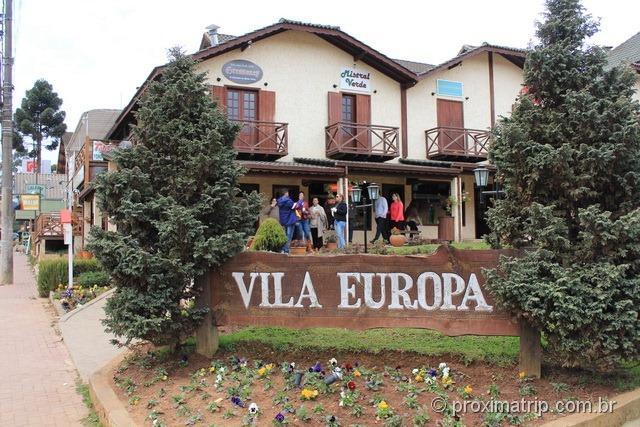 Galeria Vila Europa - Cidade de Monte Verde
