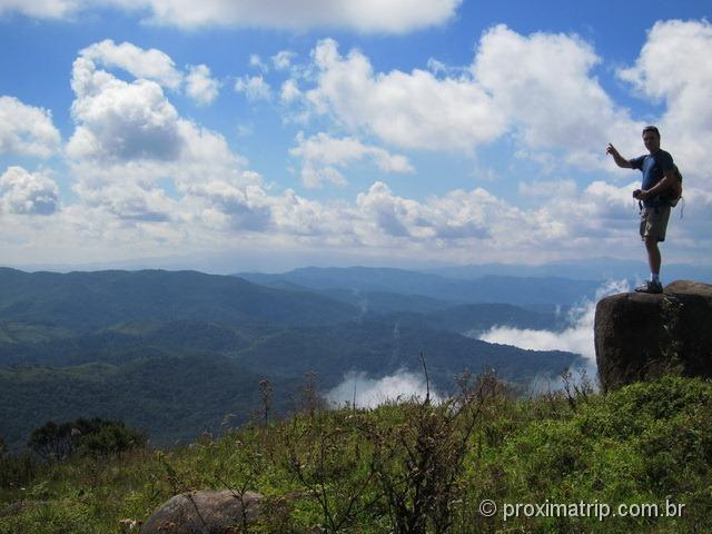 Trecho final da trilha da Pedra da Macela - Cunha - SP