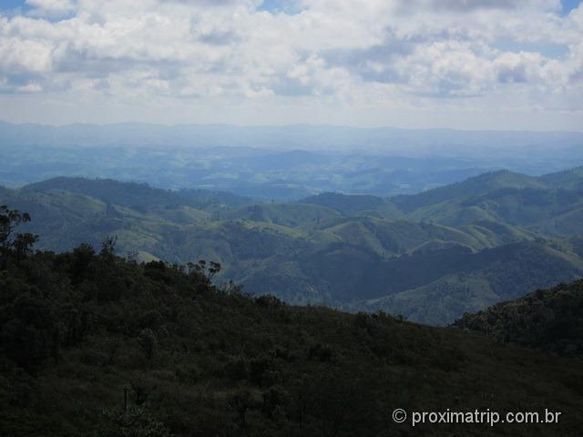 Vista vale trilha Pedra Macela Cunha SP
