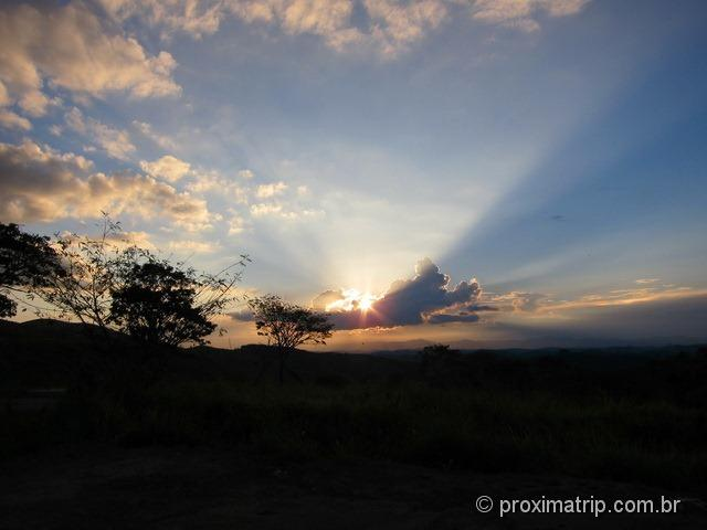 Por do Sol em Cunha