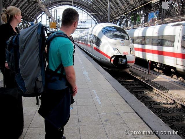 Como andar de trem na Europa