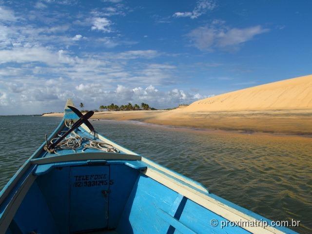Passeio de Barco pela foz do Rio São Francisco