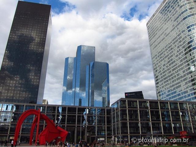Prédios Modernos em La Défense, Paris