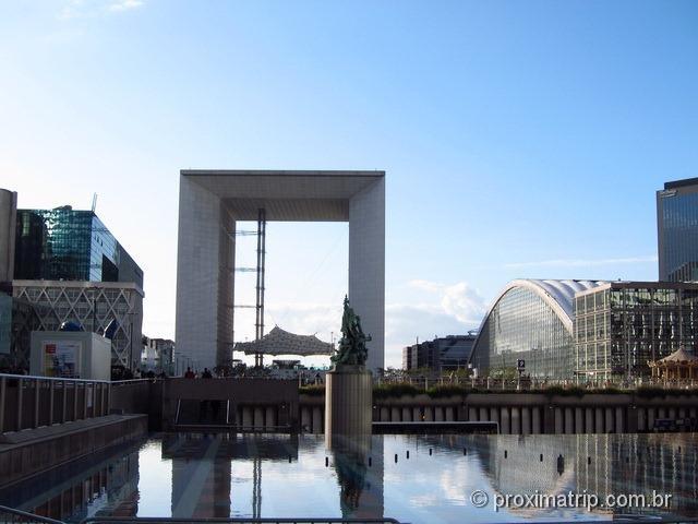 """O """"Arco do Triunfo"""" de La Défense"""