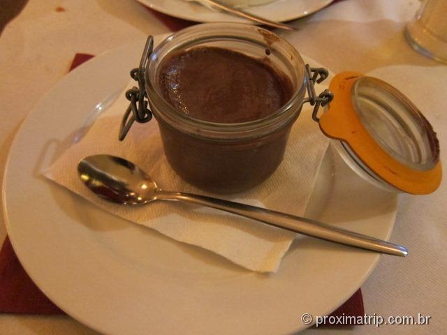 Sobremesas - Onde comer bem e barato em Paris - O Cafe Benjamin Restaurant & Brasserie