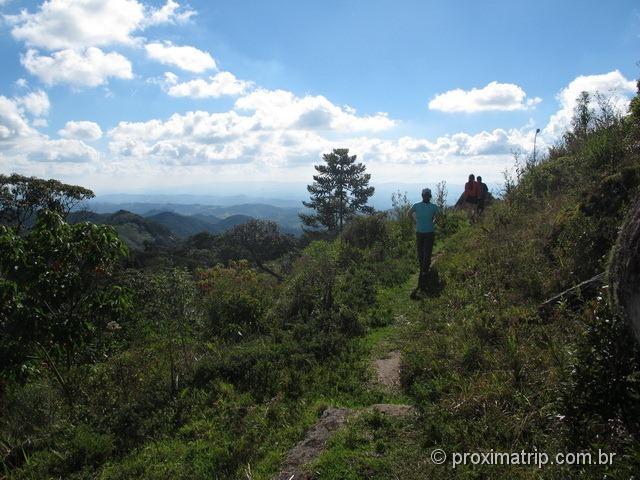 Trecho final trilha Pedra Macela Cunha SP