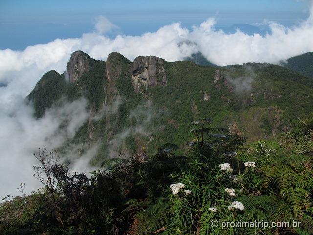 vista a partir do final da trilha da Pedra da Macela - Cunha - SP