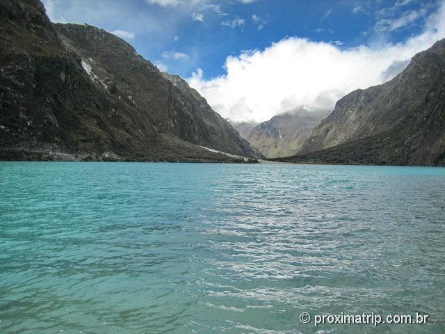 Huaraz: Laguna Chinancocha, uma das Lagunas Llanganuco