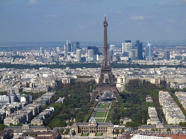 Torre Eiffel vista alto Montparnasse Paris