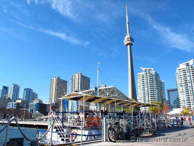 Toronto Harbour & Island Cruise - o passeio sai daqui