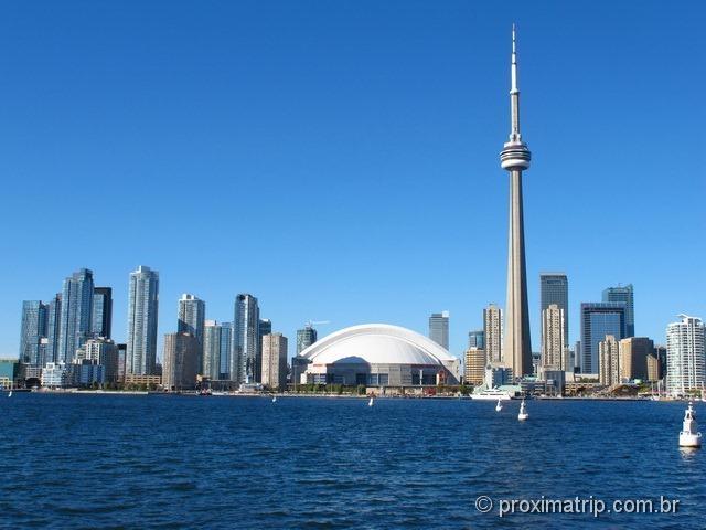 Toronto Harbour & Island Cruise - a melhor vista da CN Tower