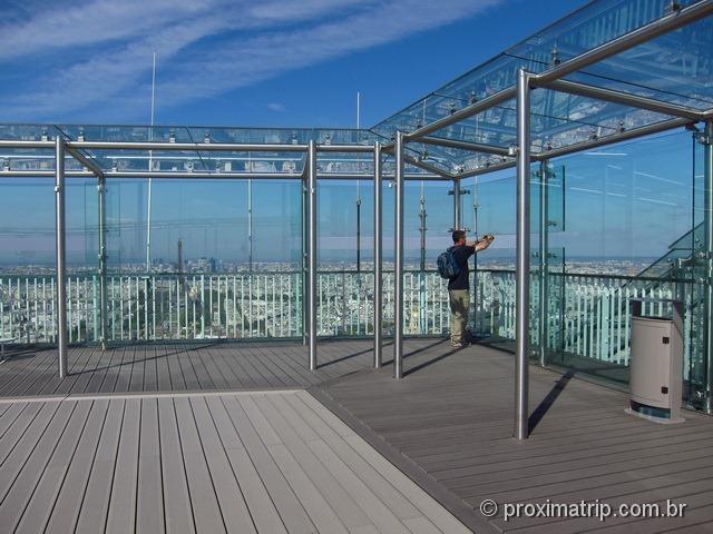 Plataforma de observação - torre Montparnasse - Paris
