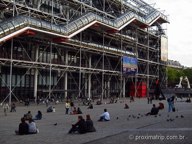 Centre Pompidou Paris Museu Nacional Arte Moderna