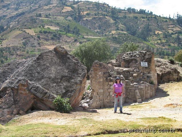 Campo Santo Yungay - Ruinas do terremoto de 1970