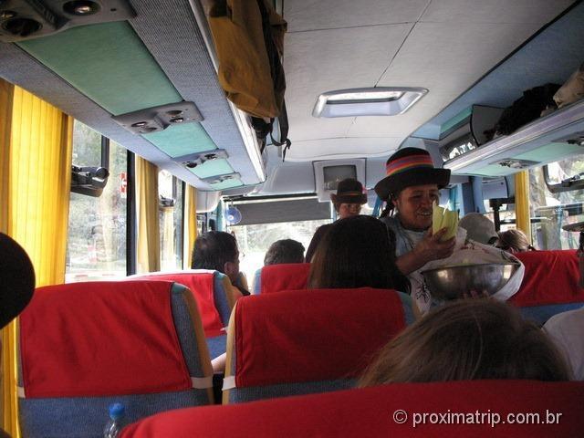 Huaraz: ônibus até as Lagunas Llanganuco