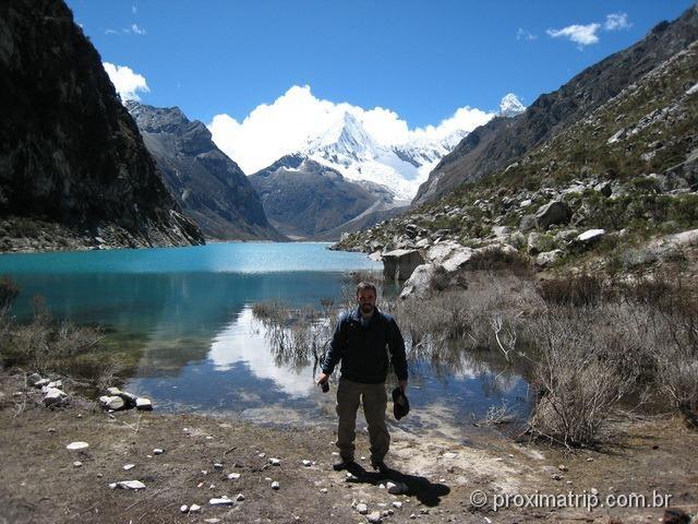 A Laguna Paron, cor azul turquesa - Huaraz (Série Peru Desconhecido)