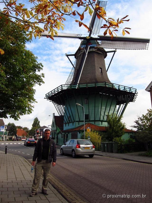 Moinhos em Amsterdam