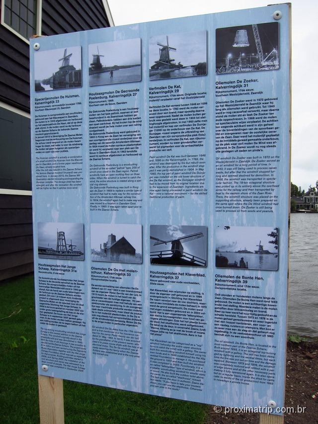 história do Zaanse Schans - Amsterdam