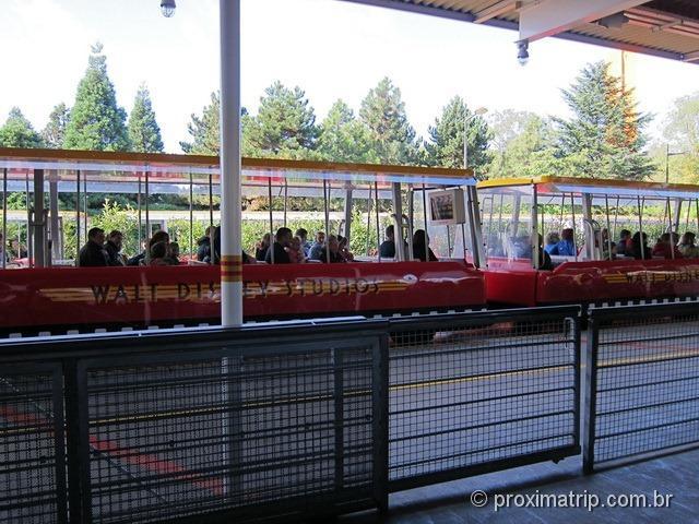 Disney Paris - Studio Tram Tour